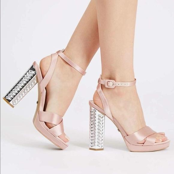 Topshop Shoes - NIB Topshop Luna Embellished sandal prom bridal