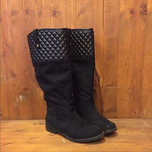 Express Shoes - Like new slouch boots