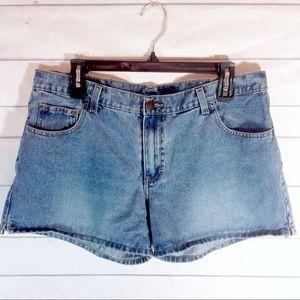 Jordache Pants - Jordache Blue Denim Jean Shorts Size 15/16 EUC