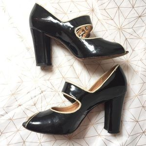 Boutique 9 Shoes - Boutique 9 leather retro heels