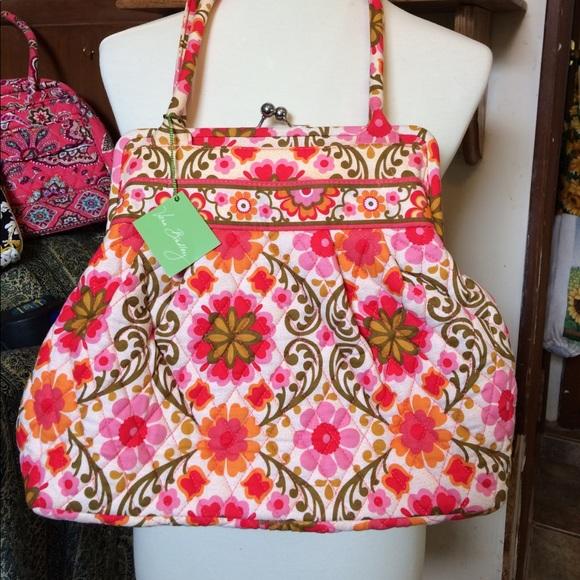 2689cb34a0da NWT Vera Bradley folkloric pattern satchel