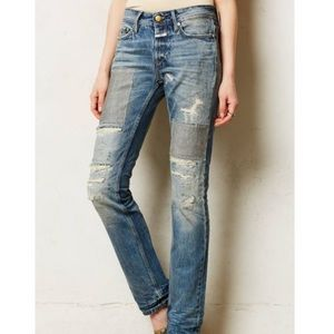 Closed Denim - Closed Pedal Star Distressed Jeans Size 25