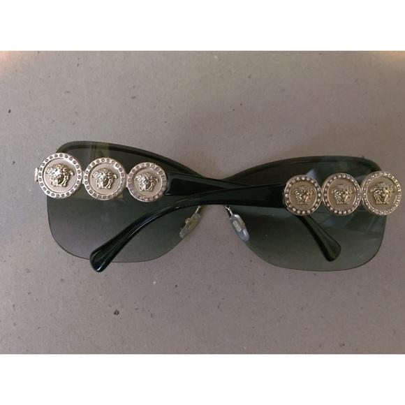 34ff67dbd5f7 Accessories - Versace Sunglasses  Black   Gold
