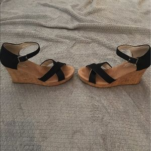 Toms Shoes Wedge Sandals Poshmark
