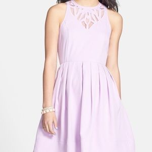 Everly Dresses & Skirts - Nordstrom Everly lilac fit and flare dress 👗