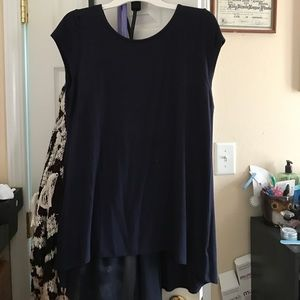 Kimi and Kai Tops - Short sleeve blue blouse got it for $28