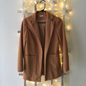 sheinside Jackets & Blazers - Camel Pea Coat - Size Small