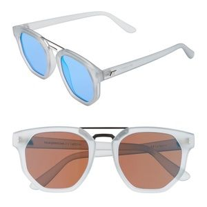 Le Specs Accessories - Le Specs 'Thunderdome' 52mm Polarized sunglasses