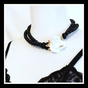 Kenneth Jay Lane Jewelry - Vintage 1980's KJL for Avon Double Strand Necklace