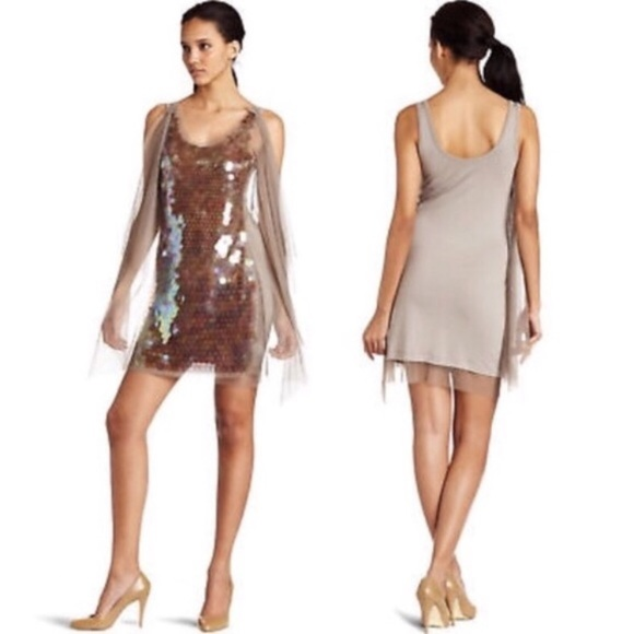 BCBGMaxAzria Dresses & Skirts - New! BCBGMAXAZRIA Nea Elba Sequin Cocktail Dress S