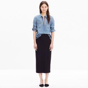 Madewell Dresses & Skirts - Madewell Skyscraper Midi Skirt