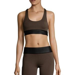 Olympia Activewear Alta Neo Bra in Army