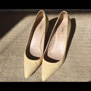 Cream Miu Miu heels
