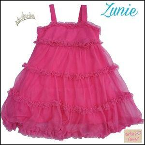 Zunie Other - Zunie pink tulle dress 18M