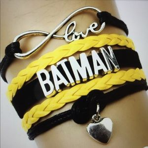 Batman Other - Batman Heart to Heart Bracelet/New