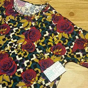 Lularoe floral Irma 2x nwt