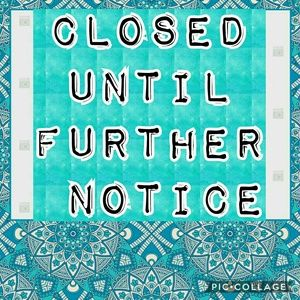 Closed Accessories - CLOSED UNTIL FURTHER NOTICE