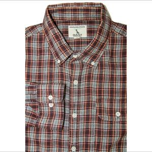 Gant Other - GANT by Michael Bastian button up shirt red gray