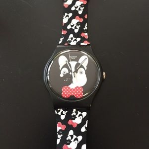 Swatch Accessories - French Bulldog Swatch Watch Andy Baby Analog