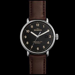Shinola Other - Shinola Canfield Quartz Stainless Steel Watch