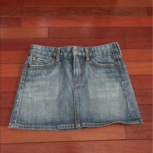 Citizens of Humanity Dresses & Skirts - Citizens of Humanity Denim Mini Skirt Size 26