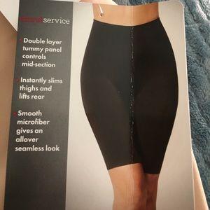 74557e1308306 Skinnygirl Intimates   Sleepwear - NWT Skinnygirl ultra smooth thigh shaper  1X