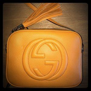 Gucci Handbags - New Gucci Disco Soho Mustard yellow