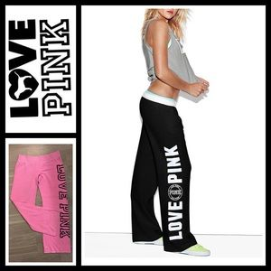 PINK Victoria's Secret Pants - VS Pink Boyfriend Pants