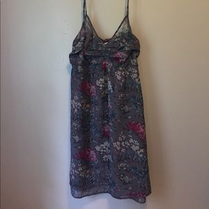 pretty floral AEO dress size 10