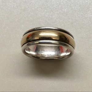 James Avery Jewelry - James Avery 14kt/Sterling Band