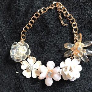 J. Crew Jewelry - Flower Statement Necklace