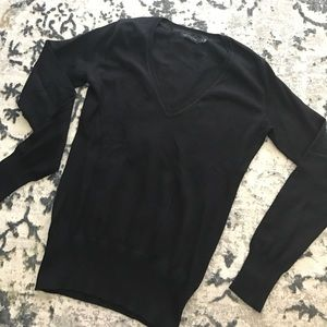 Black long sleeve The Limited sweater