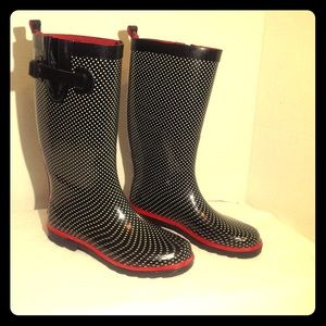Capelli of New York Shoes - Capelli Polka Dot Rain Boots