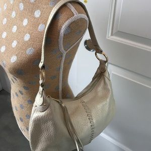 Alfani Handbags - Alfani pearlescent leather mini hobo bag!