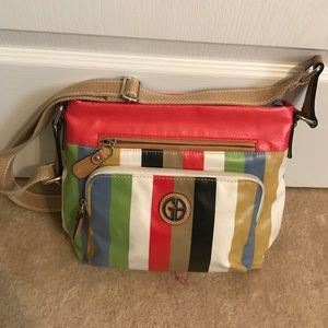 Giani Bernini Handbags - Giani Bernini Multicolored Cross body Purse