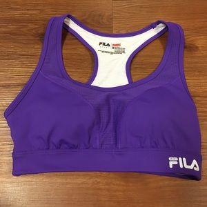 Fila Other - Women's Purple FILA Sports bra