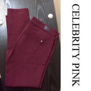 Celebrity Pink Denim - NWOT Wine Skinnies