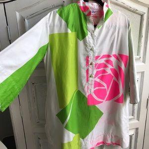RARE VINTAGE 70's Designer Tunic/Dress