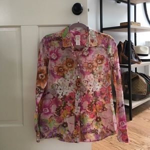 J. Crew Size 2 The Perfect Shirt