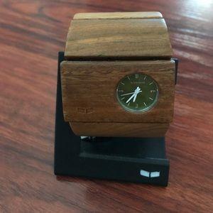 Vestal Accessories - Vestal rosewood green sandalwood watch
