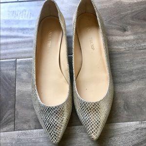 Ivanka Trump Shoes - IVANKA TRUMP Gold Flat Shoes