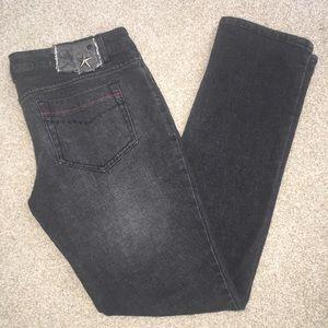 Lip Service Denim - Lip Service Skinny Low Rise Black Jeans Size 11