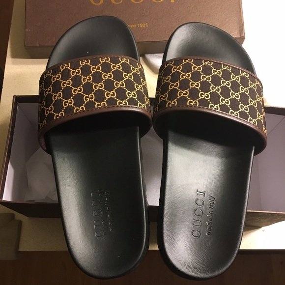 a4a27a3d56f1 Gucci Other - Gucci Slides Slippers size US 38 Unauthorized Auth