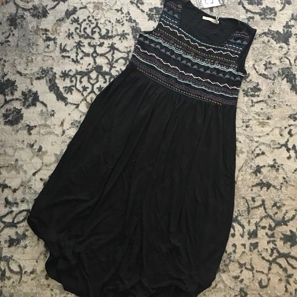 Caite Dresses - Embroidered tank dress