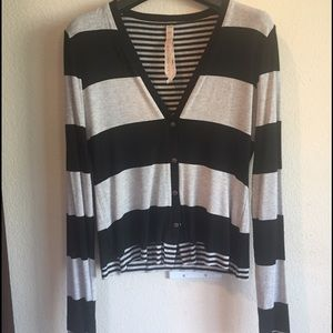 Bailey 44 Tops - Bailey 44 striped cardigan