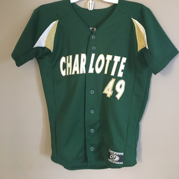 new concept fc17d 22455 Charlotte 49ers baseball tee