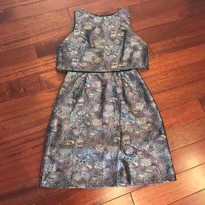 Little Mistress Dresses & Skirts - 👠brocade overlay dress