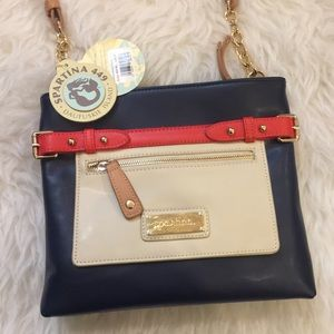 Spartina 449 Handbags - Boutique Belted Hipster in Navy by Spartina 449