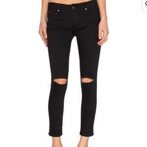 Sincerely Jules Black Ripped jeans