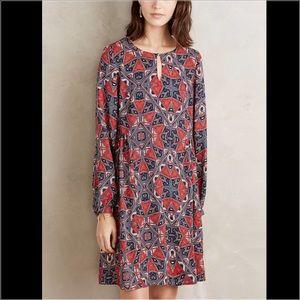Paper Crown Dresses & Skirts - Anthropologie paper crown efflorescence dress s